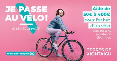 Illustration : aides à l'achat de vélo - Terres de Montaigu