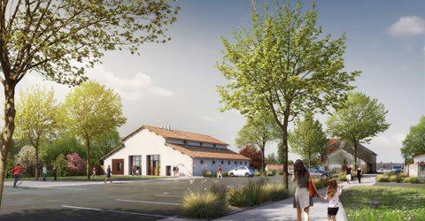 imulation 3D - Projet Grange de Bellevue
