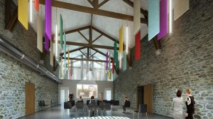 Simulation 3D - Espace mutualisé - Grange de Bellevue