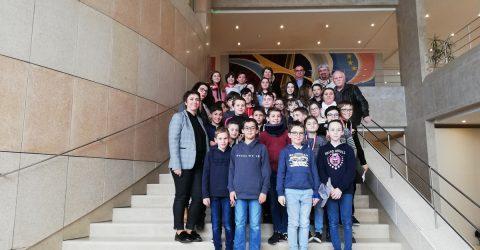 Conseil Municipal Enfants au Conseil Départemental de la Vendée