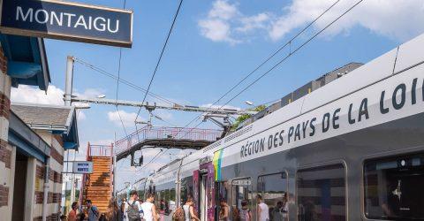 Image - gare TER de Montaigu Vendée - Terres de Montaigu