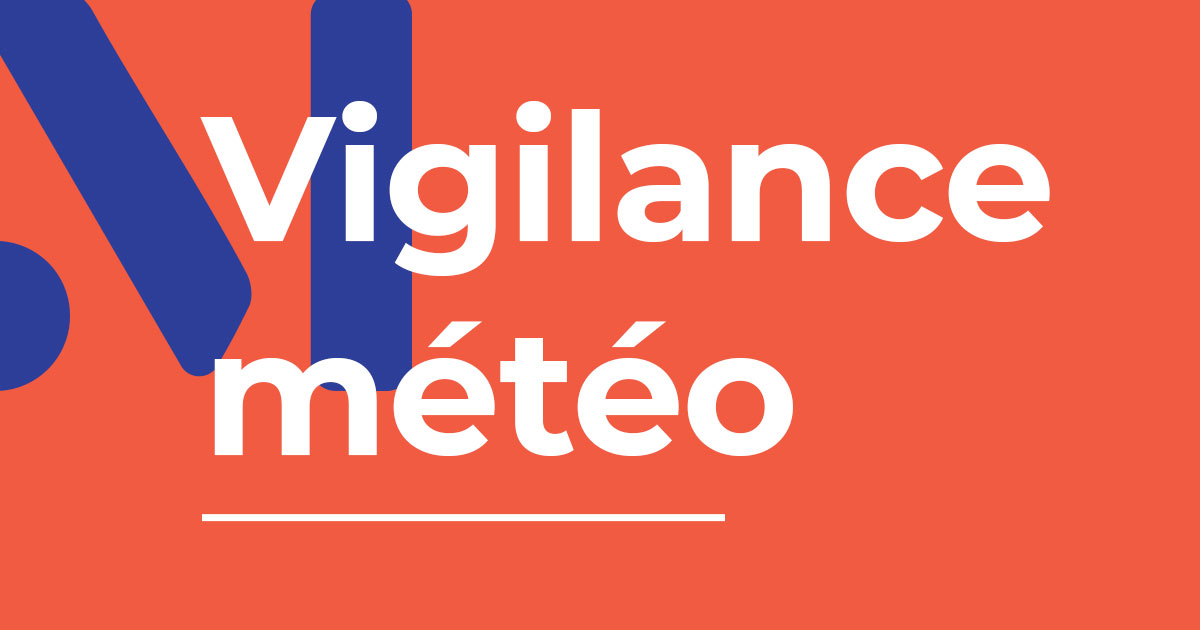 Visuel : vigilance météo - Terres de Montaigu