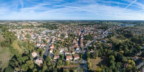 Image : vue aérienne - Cugand - Terres de Montaigu