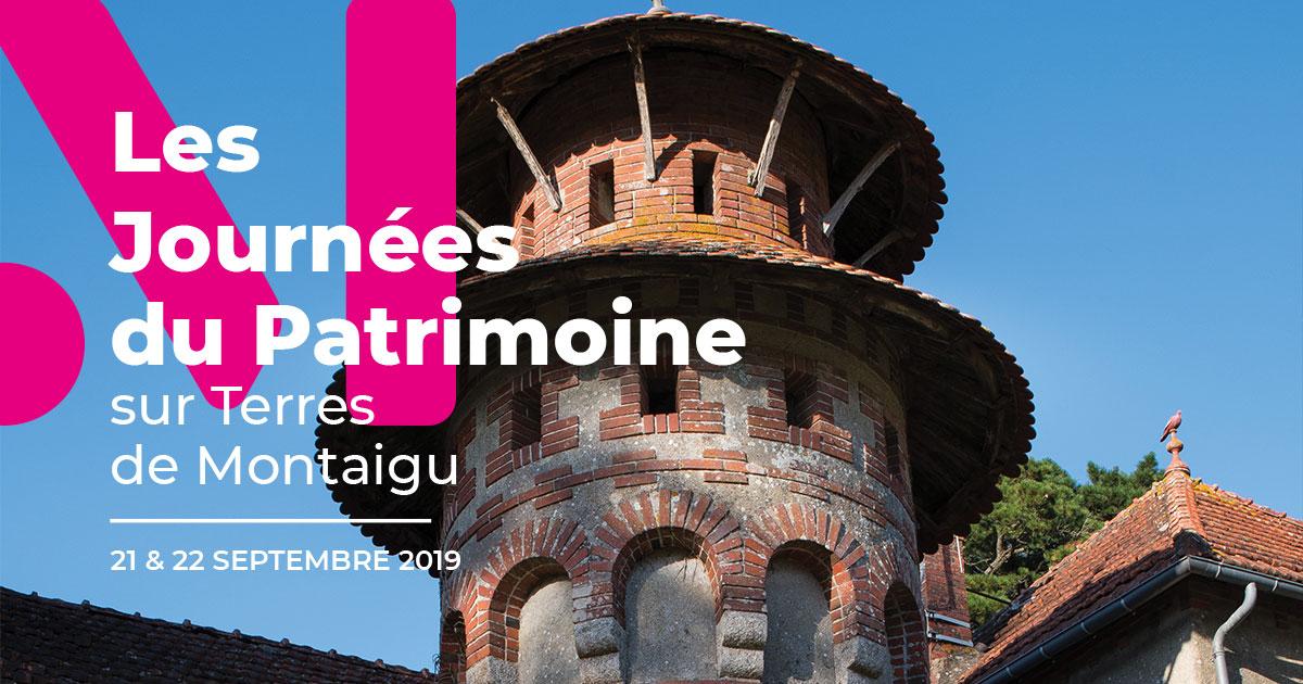 Image : Actualité - Journées Européennes du Patrimoine 2019 - Terres de Montaigu