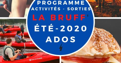 Programme activités-sorties Eté 2020 Ados