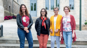 Les membres de la commission action sociale & éducative
