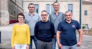 Les membres de la commission Sport & Cotoyenneté