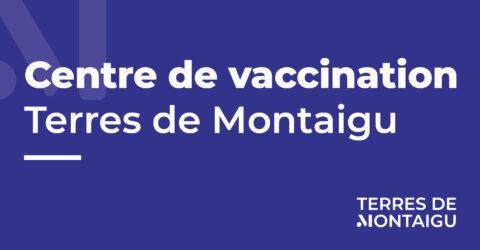 Visuel du centre de vaccination de terres de Montaigu