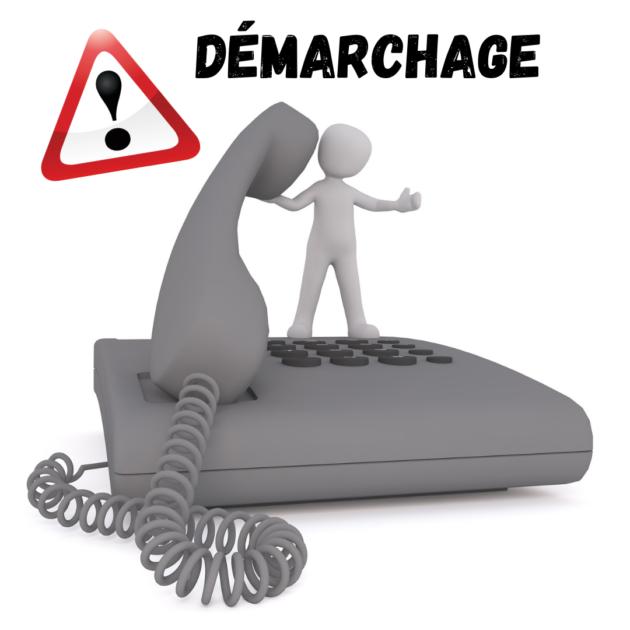Démarchage abusif et sites frauduleux