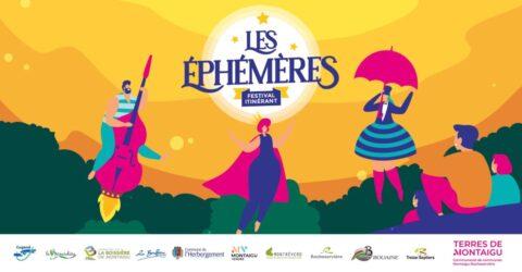 Visuel : Les Éphémères 2021 - Terres de Montaigu