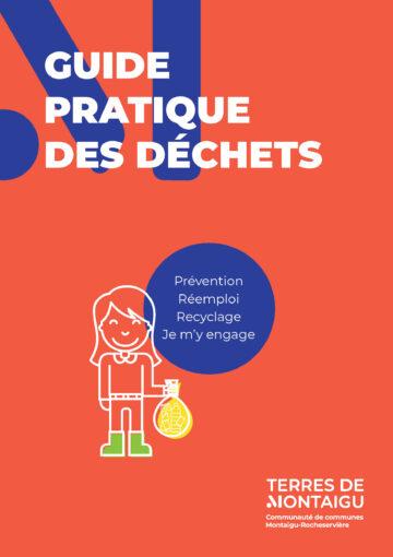 Image : couverture - guide pratique des déchets 2019 - Terres de Montaigu